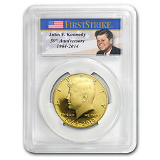 2014-W 3/4 oz Proof Gold Kennedy Half Dollar Coin - PR-70 First Strike PCGS