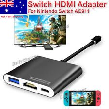 Usb-c Type-c to HDMI Adapter Hub Dock for Nintendo Switch NS Samsung S8