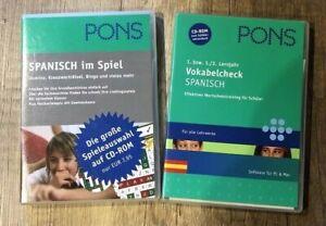 Pons Spanisch - Vokabeln-check Spanisch - Lernsoftware - Sprachkurs - Schule