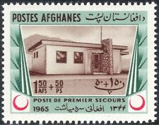 Afghanistan 1965 RED CRESCENT/croce/medico/salute/benessere/edifici 1v (n27618)