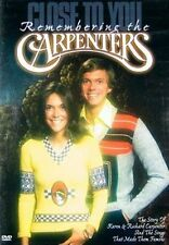 Close to You Remembering Carpenters 0030306727820 With John Bettis DVD Region 1