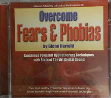 OVERCOME FEARS & PHOBIAS - GLENN HARROLD  AUDIO HYPNOSIS CD