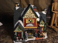 2000 Santa's WorkBench Collection Christmas Village ~ Wax & Wick Shoppe