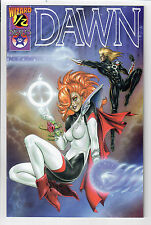 DAWN #1/2 - NM - Limited Edition Wizard Variant Cover with COA!