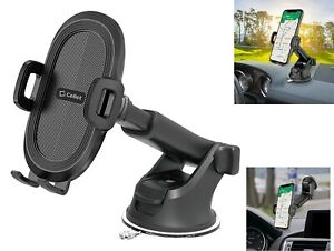 Cellet Windshield/Dashboard Extendable 360° Rotation One Touch Phone Car Mount