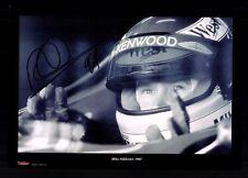 Mika Häkkinen Foto Original Signiert Formel 1 Weltmeister +G 18477