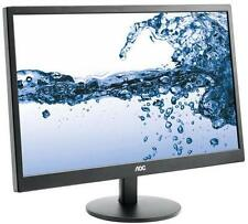 AOC E2270SWN 22 Full HD Monitor with VGA 5ms 16:9 VESA Mountable