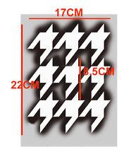 Hounds tooth pattern stencil A4 size Home decor art craft reusable Stencils