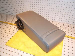 Mercedes W124 500E SPORTLINE Recaro rear seat leather Blue GRAY center 1 Armrest