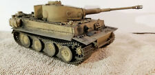 BUILT 1/35 TIGER 1 EARLY VERSION GERMAN PANZER WW 2 TANK PROFESSIONALLY BUILT