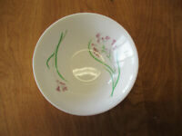 "Martha Stewart MTW5 Cereal Bowl 6 1/2"" Lavender Flowers 1 ea     4 available"