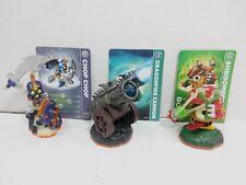 Skylanders Giants Battlepack #1 - Chop Chop, Dragonfire Cannon, Shroomboom loose
