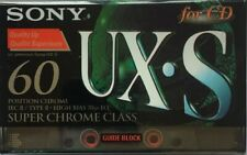 AUDIOCASSETTA SONY UX-S 60 SUPER CHROME  II