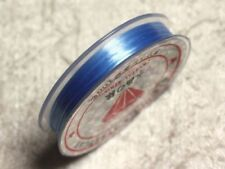 Bobine 10m - Fil Elastique 0.8-1mm Bleu clair   4558550011268