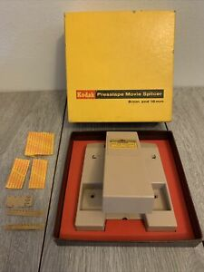 Vintage Kodak Presstape Movie Splicer 8mm And 16mm Original Box No. 64 USA Made