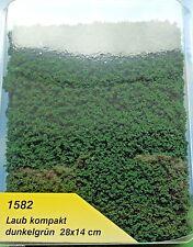 (219,13 €/m²) Heki 1582 feuillage compact, sol vert foncé, 28 x 14 cm, NEUF