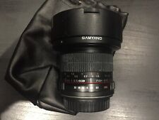 Samyang 8mm f/3.5 Fisheye Lens to suit Canon EOS