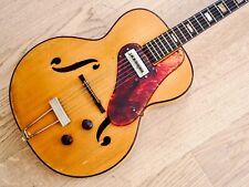 1940s Silvertone 1350, Harmony H58 Vintage Hollowbody Guitar Gibson P-13 & Case