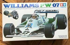 pieces detachees maquette voiture 1/20 eme Tamiya Williams FW 07
