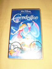 Cendrillon VHS Walt Disney Les Chefs-D'œuvres