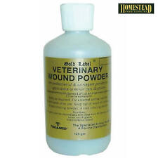 GOLD LABEL VETERINARY WOUND POWDER 125GM - WHITE