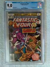 Fantastic Four #193 CGC 9.0 (1978) Diablo Darkoth White Pages