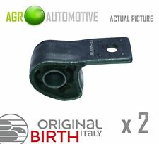 2 x BIRTH FRONT AXLE CONTROL ARM WISHBONE BUSH PAIR OE QUALITY REPLACE 2102
