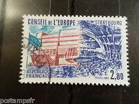 FRANCE 1983, TIMBRE SERVICE 78, CONSEIL EUROPE, oblitéré, VF STAMP