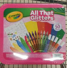 Crayola All That Glitters Over 50pcs