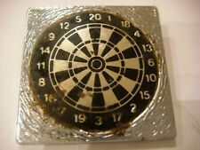 Vintage Darts Board Badge Metal  By Clubman