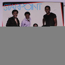 STARPOINT: All Night Long LP (promo stamp obc) Soul