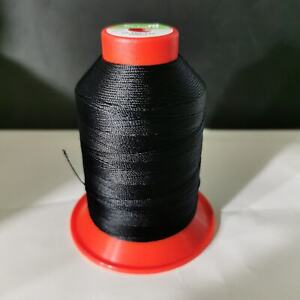 Serafil 20er Stärke 600 Meter schwarz sehr fester Garn Sattler Schuhmacher Polst