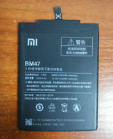 Original Battery BM47 4000mAh BM 47 For Xiaomi Redmi 3 3S 3X 3 Pro 4X Warranty