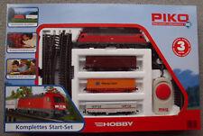 PIKO  Start-Set  Güterzug  mit Elektrolok  BR 182  -  Sonderserie