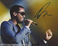 Romeo Santos Firmado 8X10 Foto W/ Coa Latin Singer Bachata Aventura Fórmula B
