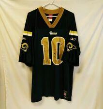 Reebok Stl Rams La Football Jersey Size Xl Used Distressed Nfl Bulger #10 Xl