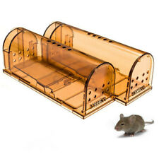 Reusable Mouse Trap Humane No Kill Rat Rodents Catcher for Indoor Outdoor