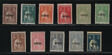 Portugal - 1918-21 Azores - Ceres - Short Set (2 missing) - Mh