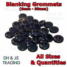 Blanking Grommets Rubber Grommet Closed Gromet Blind Plug Bung Bungs - All Sizes