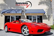2004 Ferrari 360 Spider Convertible 2-Door
