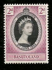 1953 BRITISH BASUTOLAND AFRIKA QUEEN ELIZABETH II KRÖNUNG UNGEBRAUCHT MARKE