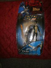 DC THE BATMAN EXP EXTREME POWER BLASTER METAL HEAD ACTION FIGURE