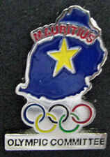 LONDON 2012 Olympic MAURITIUS NOC Internal team - delegation pin