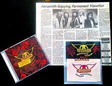 Aerosmith Permanent Vacation 1987 Lot ALBUM/LP/CD/VINYL-MEGARARE