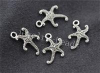 30pcs Tibetan Silver Lovely starfish Jewelry Charms Pendant 19x13mm New