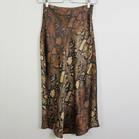 SHEIKE   Womens Python Print Skirt [ Size AU 6 or US 2 ]