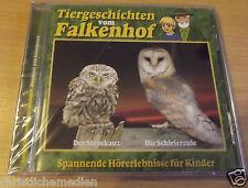 Tiergeschichten vom Falkenhof - Steinkauz Schleiereule NEU OVP CD 4250128405553
