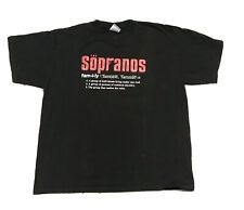 Rare Vintage 2000 the Sopranos Shirt Xl Tv Show Season Movie Family Definition