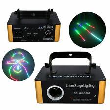 RGB DMX Bühnenlicht Laser Showlaser 40W 500mW PRO DJ Stage Effekte +ILDA