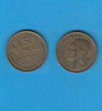 Gertbrolen   50 Francs Guiraud Cupro-Aluminium 1954 B Beaumont-le-Roger